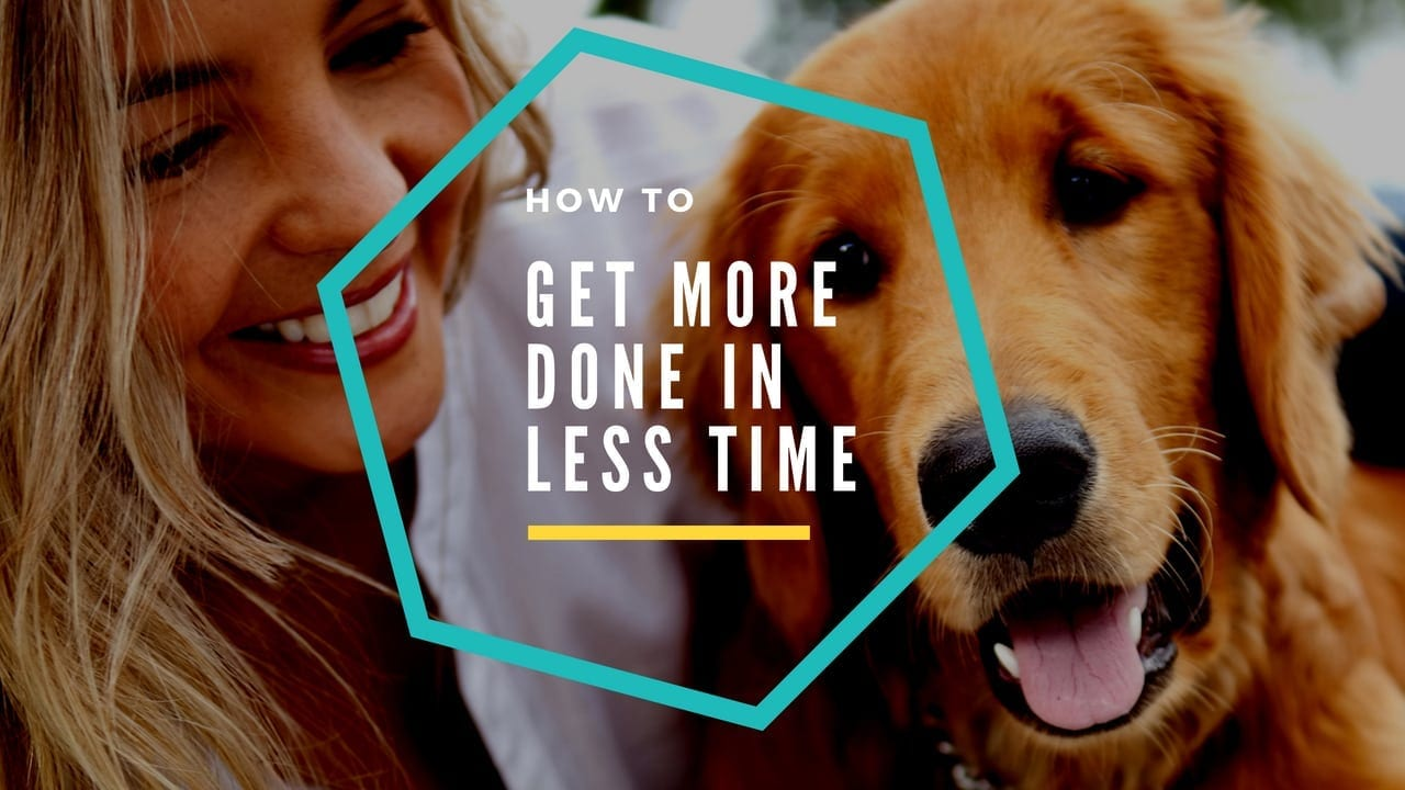 how to get more done header