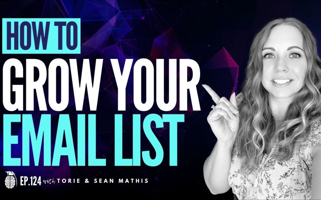Ep. 124 Three Keys to Grow Your Email List