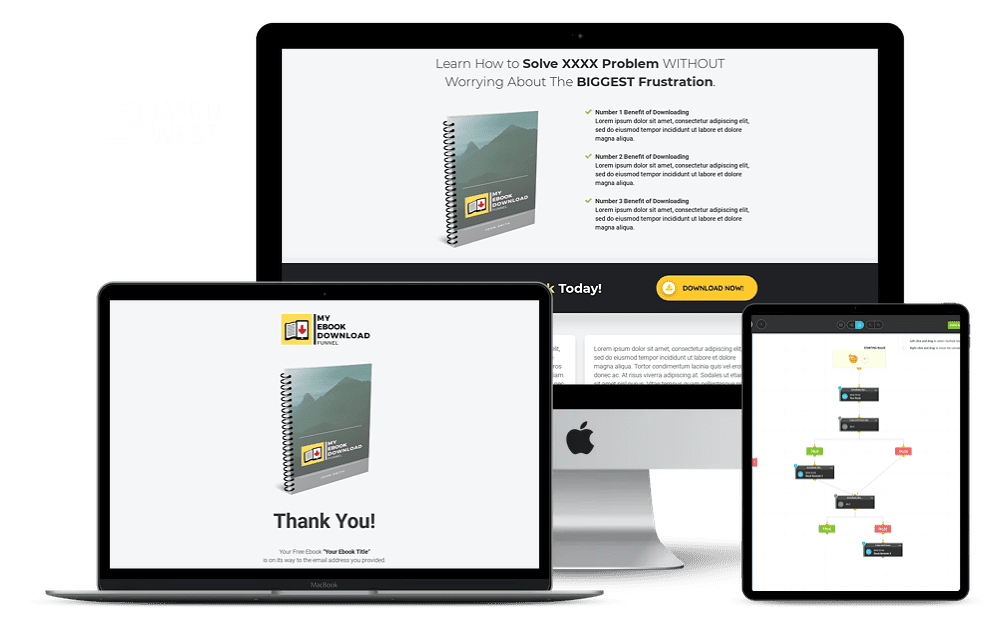 Done For You E-Book / Freebie Funnel
