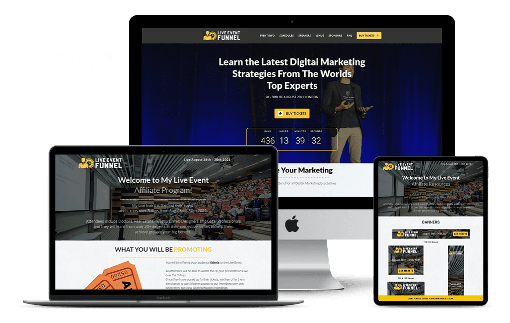Live Event Funnel by Torie Mathis