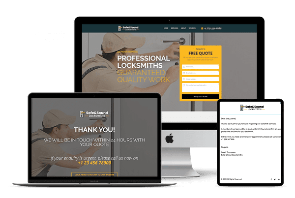 Locksmith Funnel by Torie Mathis