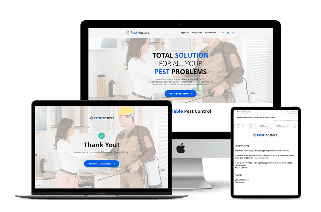 Pest Control Funnel by Torie Mathis